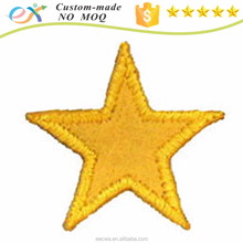 factory price custom embroidered star patches