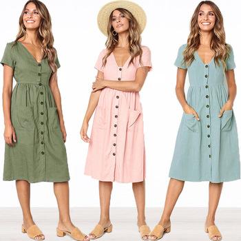 2018 New Design Fashion Women Hot Sale Lady Casual Dress Buy