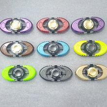 Wholesale custom metal new spinner 360 vision fidget spinner bearings toy for anti stress