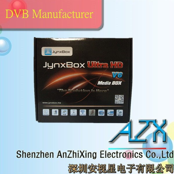 satellite tv receiver jynxbox v6 best web to buy china with iptv set top box