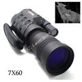 Camera digital CCD monocular Infrared Automatic Inductive day night vision goggles 7X60 scope for hunting hot