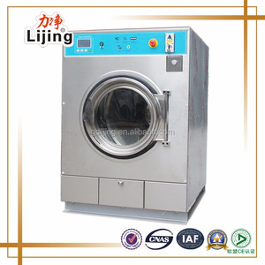 Commercial coin and card operated washer and dryer for laundry