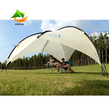 Easy Set Up Camping Gazebo Tent Large Beach Sun Shelter