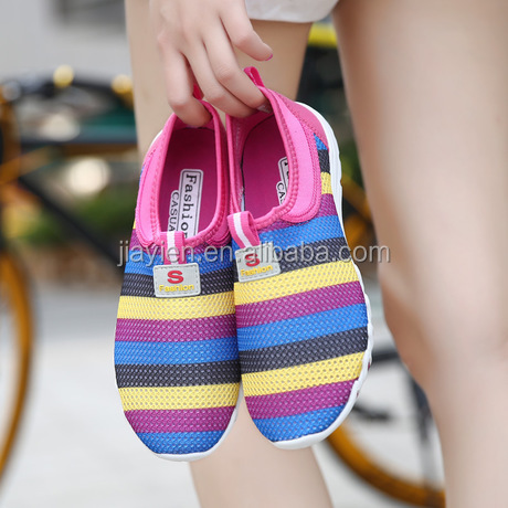 2016 New Fashion Women Sneakers,Cheap Walking Women's Flats Shoes Women Breathable Sports Casual Shoes 3 Colors Size36-40