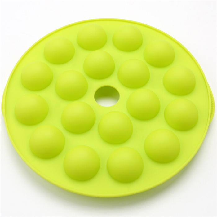 Pop Cake Stick Mould for Party Holidays 18 Round Shapes silicone Lollipop mold