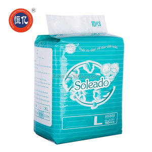 Manufacturer Disposable Super Absorbent High Quality Ultra Thick Adult Diaper wholesale For Old People