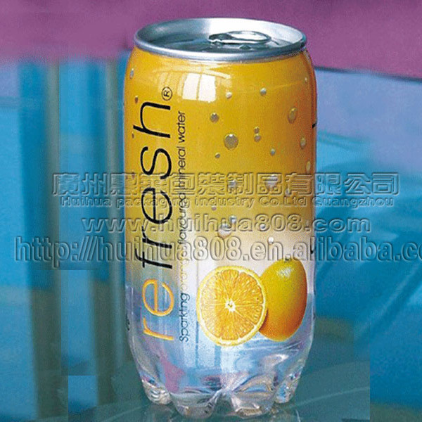Beverage PET cans 206#(355ml 250ml,500ml)