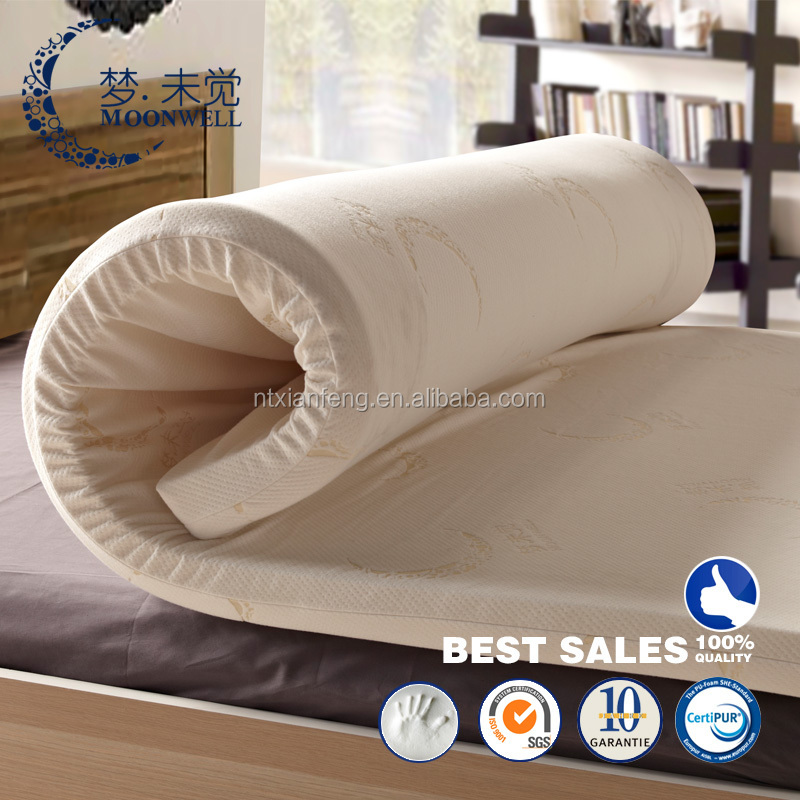 Roll Up And Compress Mattress Topper Popular Memory Foam Twin Size