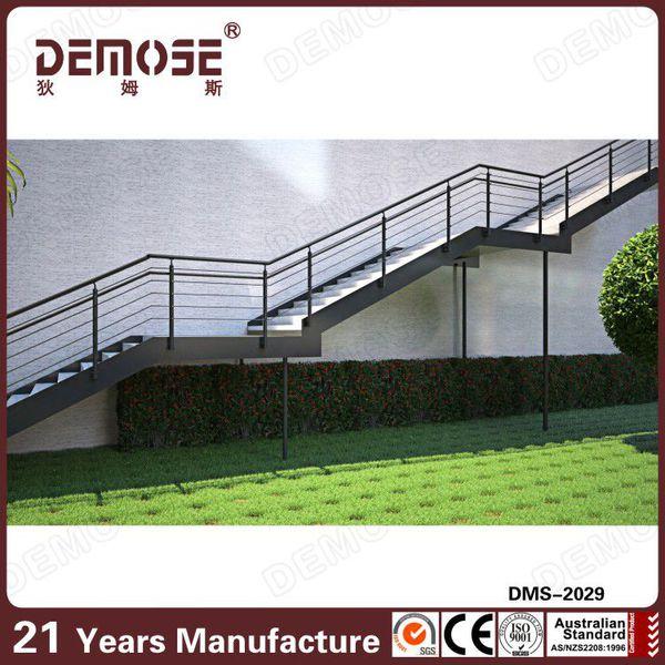 Curvado barandilla venta caliente modelos de escaleras for Modelos de escaleras de concreto para segundo piso