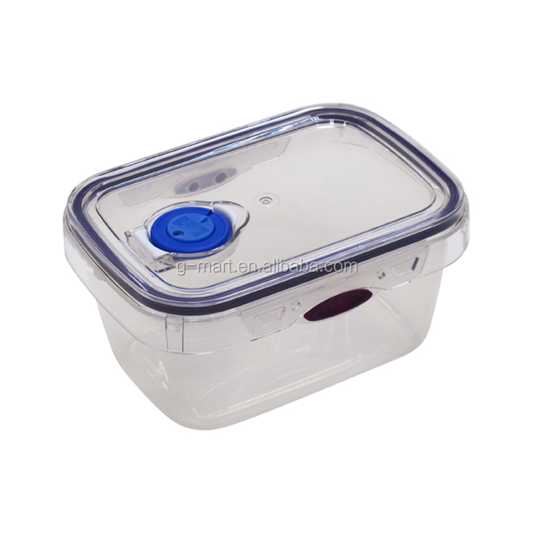 New Design Large Plastic Food Storage Containers Freezer,Microwave and Dishwasher Safe Kitchen Storage Box