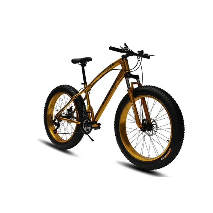 2017 new design 26inch 7 speed large steel frame Snow Bike with fat bike