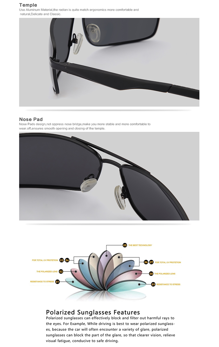 2020 New Arrivals Polarized Wholesale Sunglasses Lenses Metal Glasses