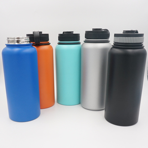 32oz food grade double wall 18 8 stainless steel thermos vacuum flask bottle to keep water hot and cold for 24hours
