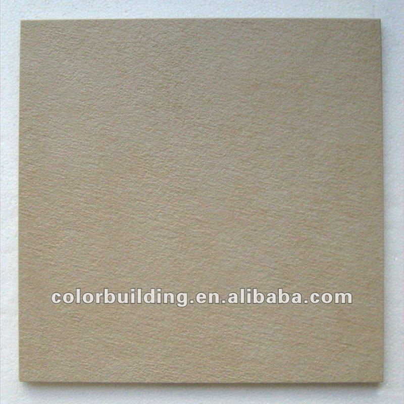 Wear-Resisting Rustic Quartz Floor Tiles Golden Beige Tiles