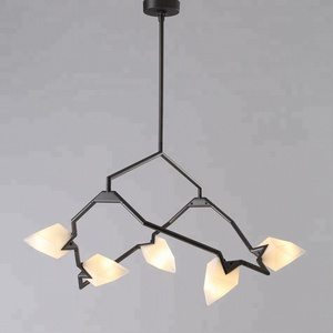 Lamps Home Decor Indoor Stylish Glass Seed Chandelier