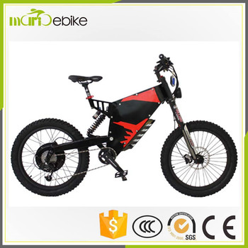 Enduro Ebike/ Carbon Steel Frame 24 Inch 72v 3000w Full Size ...