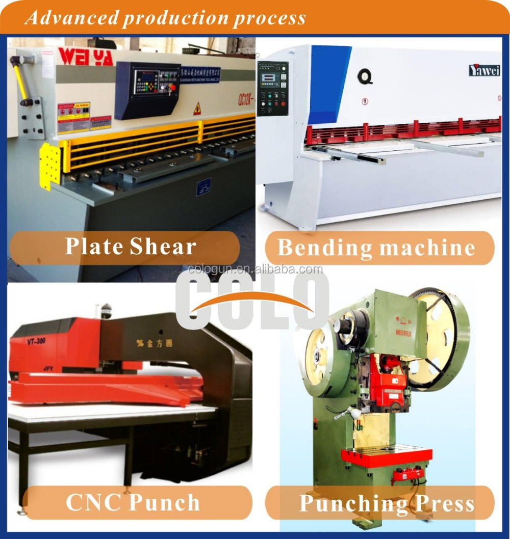 Colour coated sheets manufacturing process - Electrostatic Powder Coating Industrial Spray Booths