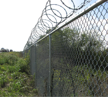 Black Vinyl Coated Wire Chain Link Fence Galvanized Buy