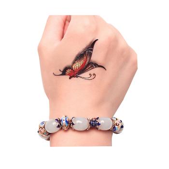 Custom Kuwait Mens Dragon Upper Arm Sticker Temporary Tattoos ...