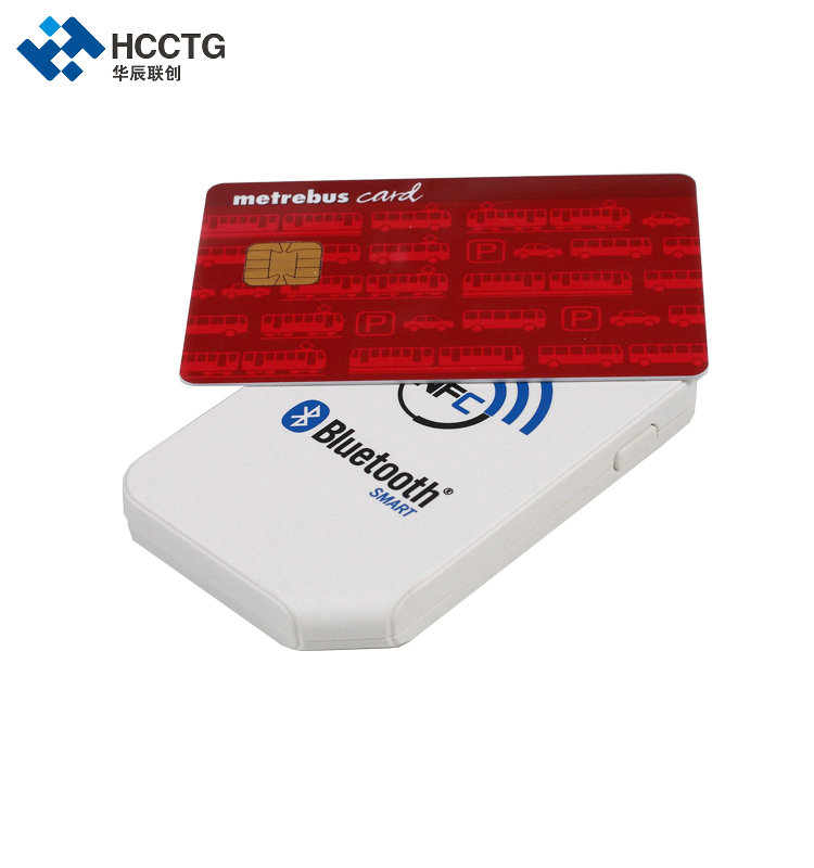 High quality 13.56 mhz Android wireless Bluetooth nfc smart card reader/Writer with free SDK - ACR1255