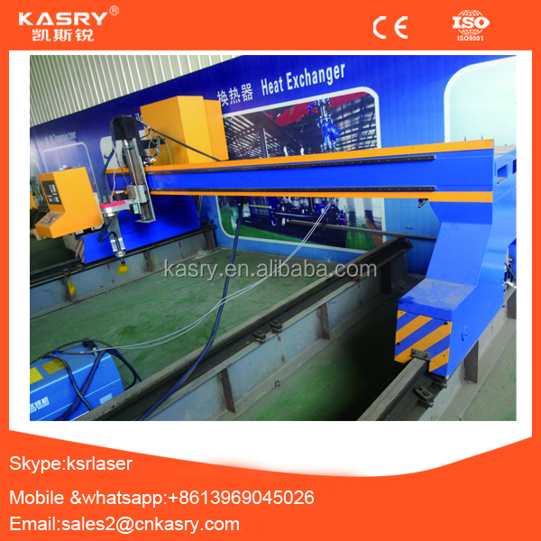 All kinds of metal steel sheet cnc plasma flame cutting machine cut 1 to 160mm KR-PL