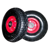 supply good quality 3.50-4 small steel rim pneumatic wheels