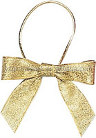 2017 new design ribbon pull bow with barbs