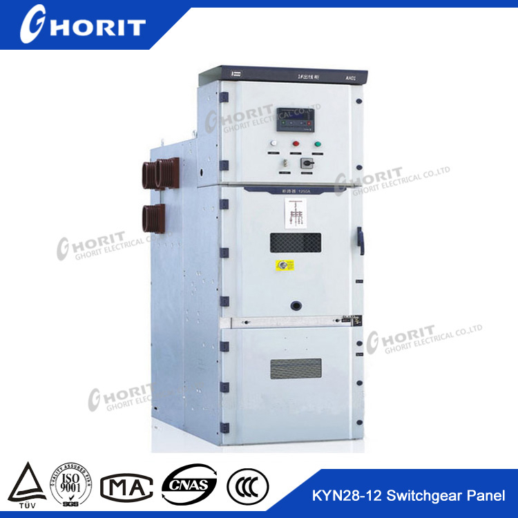 KYN28-12 electrical main switchboard 11KV distribution cabinet for transformer substation