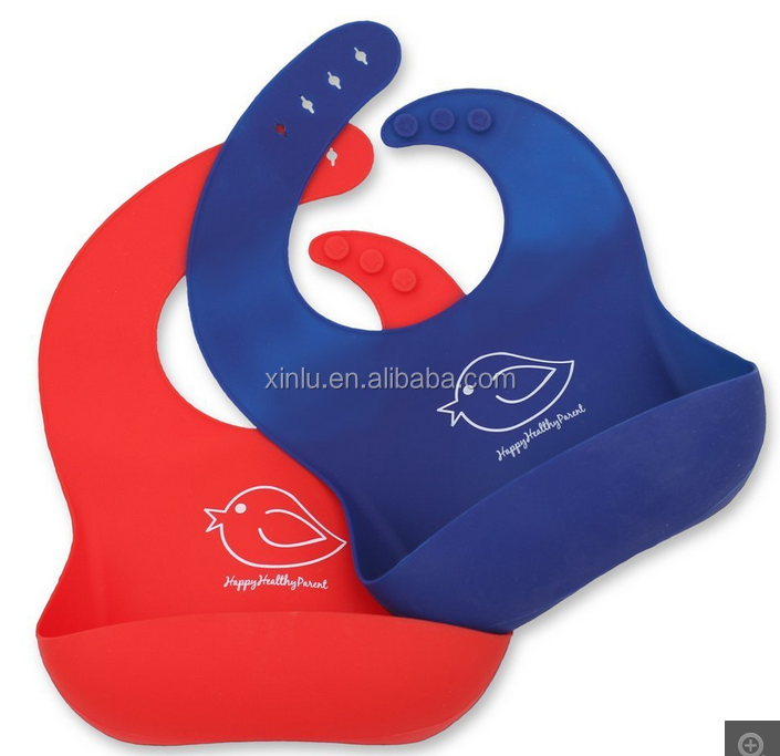 Waterproof High Quality silicone baby bib