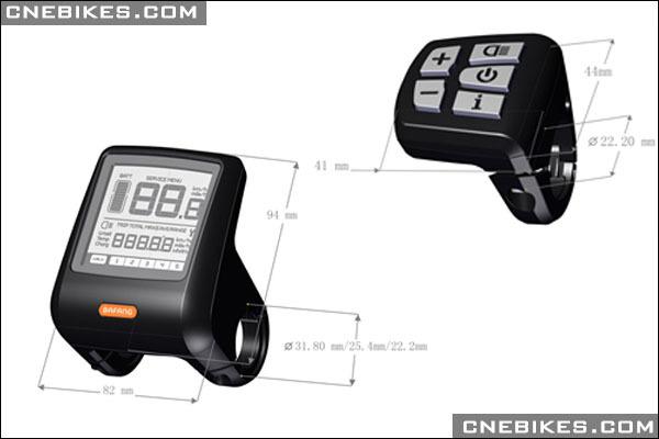 36v 250w Bafang Mid Max Drive System Motor Bike Kit Buy