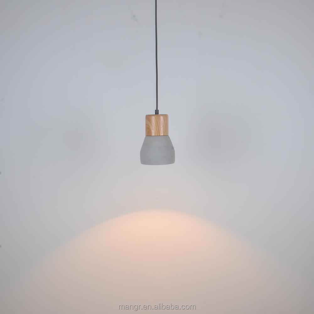Pendant-Light-MG-1970 Retro decorazione in legno massello Lampada ...