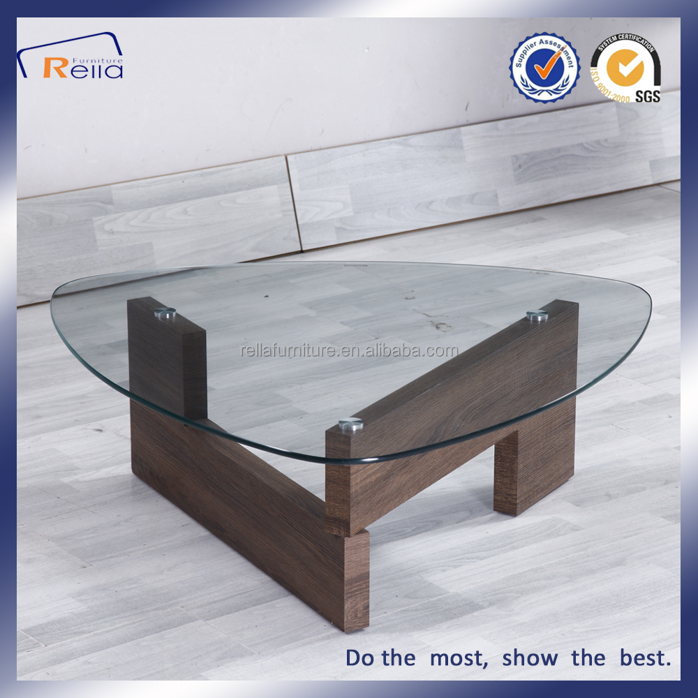 Triangle Gl Top Coffee Tables Made