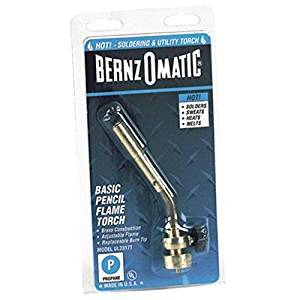 BernzOmatic 189-UL2317 Pencil Flame Torch /RM#G4H4E54 E4R46T32523733