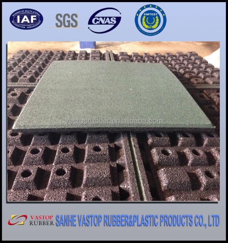 Parco giochi di gomma outdoor piastrelle pavimenti 500mm - Piastrelle di gomma ...