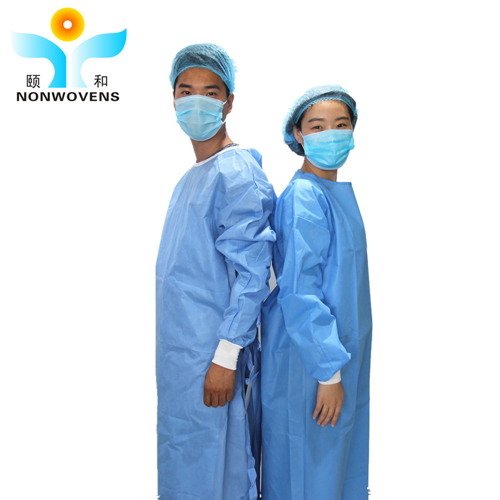 Sms Non-woven Blue Operation Surgical Patients Doctor Disposable ...