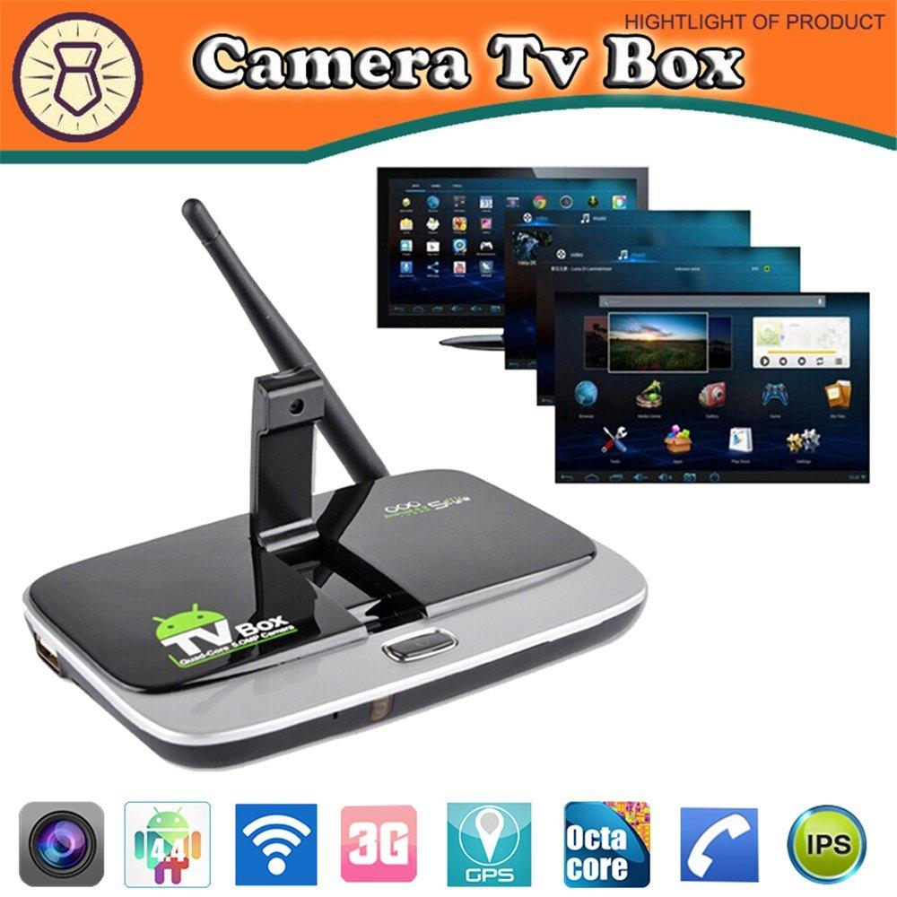 CS918S Andriod 5.1 Smart TV Box Quad Core 2G/16G Built in 5.0MP Camera 4K1080P+Bluetooth 4.0 RJ45 HDMI KODI