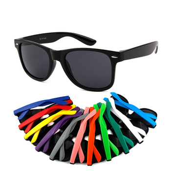 2019 fashion sun glasses UV400 Promotional plastic cheap sunglasses