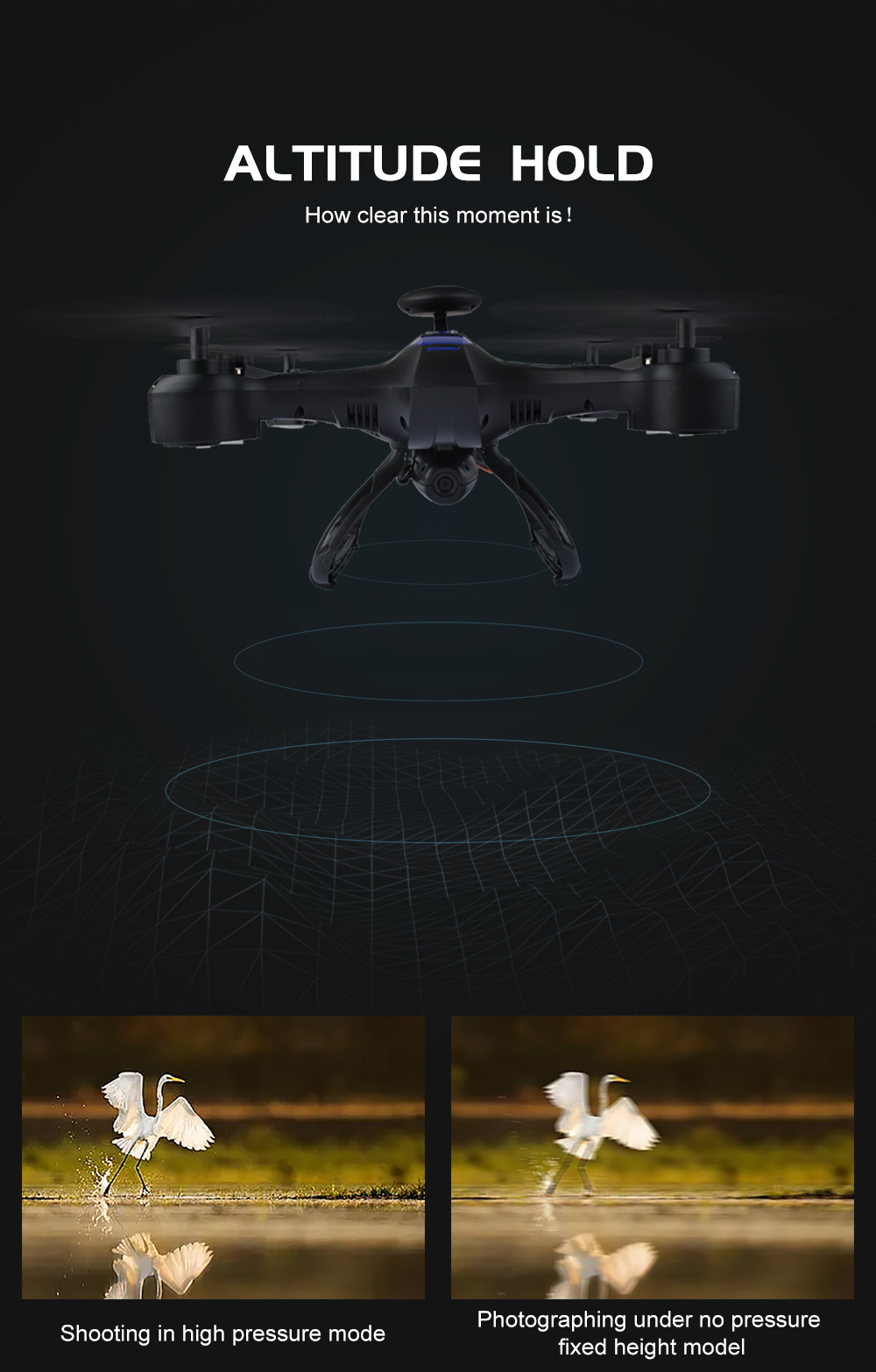 RC Large Drone Professional For Aerial Photography