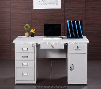 Cheap Kd Structure Metal Frame Steel Office Computer Table - Buy Metal  Office Computer Table,Kd Structure Metal Office Computer Table,Cheap Kd
