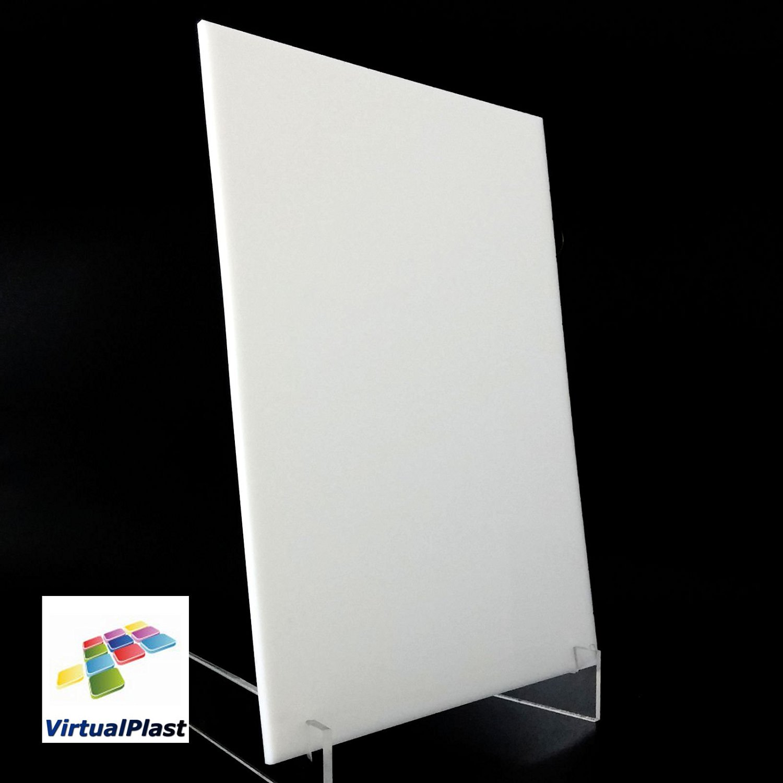 White 3mm Perspex Acrylic Plastic Plexiglass Cut 150mm x 210mm A5 Sheet Size