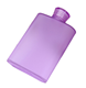 wholesale high quality non metal hip alcohol plastic flask