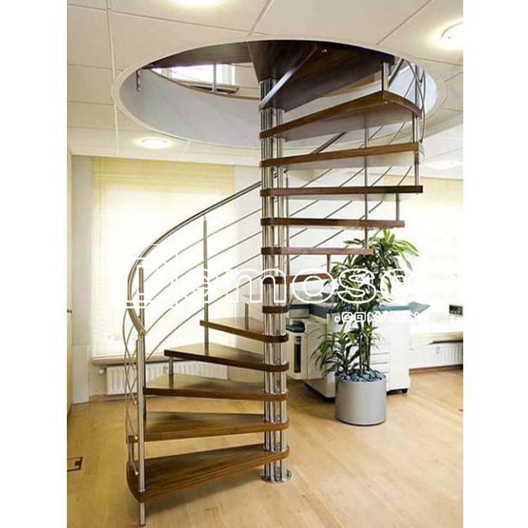 Interior roble usado escalera de caracol-Escaleras-Identificación ...