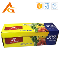 hot sale strongly adhesive pvc soft food cling film
