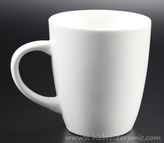 Plain White Custom Design Tea Coffee Ceramic Porcelain Mugs With Handle