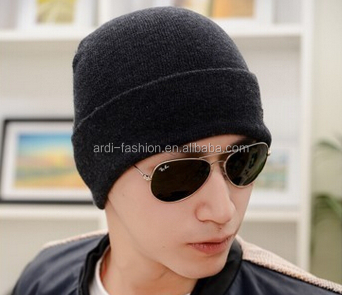 mens knitted winter sport hat knitted mens benies hats for men