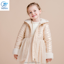 Winter Jacket For Girls Fashion Design Waterproof Children's Coat Polyester Fabric Outfit Wholesale