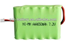 650mah <span class=keywords><strong>aaa</strong></span> batteries ni-mh <span class=keywords><strong>7.2v</strong></span>