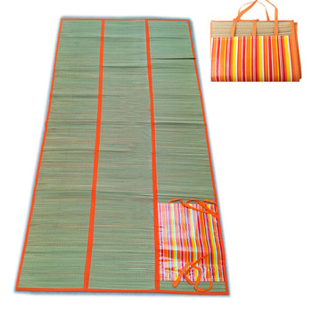 Foldable Straw Beach Mat