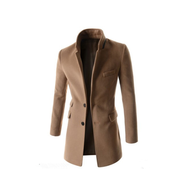 Manufactory price ready goods soft overcoat men's casual blazer designs