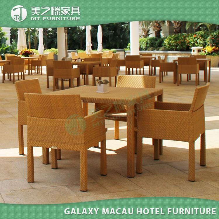 Galaxy Macao Hospitalidad Muebles Marco De Aluminio Mesa Redonda De ...
